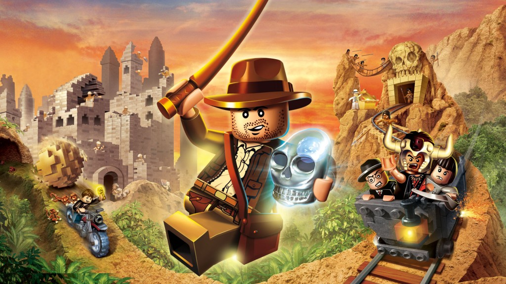 Slimspel - Lego Indiana Jones